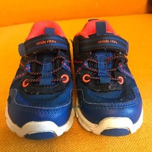 Stride Rite Sneakers in Blue and Orange size 5.5